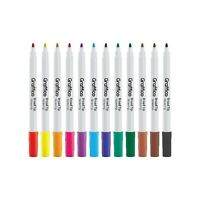 Funliner Colouring Pen, Broad Tip, Assorted, Pack of 36