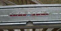 1966 CHEVY II NOVA SS ORIGINAL REAR BODY TRUNK LID PANEL INSERT
