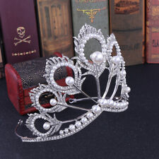 1 Top Púrpura Diamante Mini estrás Corona Tiara Para Recién Nacido Bebé Regalo De Cumpleaños