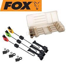 FOX MK3 Swinger 3er Set - Bissanzeiger Set (rot, orange & grün) Karpfenangeln