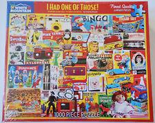 Vintage Games Toys Collage 1000 Pc Jigsaw Puzzle White Mountain Kids Family Teen