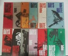 Days of Hate #1-12 1 2 3 4 5 6 7 8 9 10 11 12 Image Complete Set Lot Run Nm
