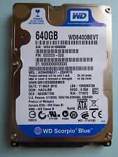 Western Digital WD 6400 bevt - 22a0rt0 | DMC: hacvjbb | 11 mar 2010 | 640 gb #06