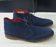 $295 Polo Ralph Lauren Michael Lagoon Suede Spain Leather Chukka Boots Shoes 8.5
