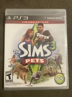 Brand New / Sealed: The Sims 3: Pets  - LIMITED EDITION Sony PlayStation 3 Game