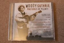 WOODY GUTHRIE - PASTURES OF PLENTY (CD ALBUM)