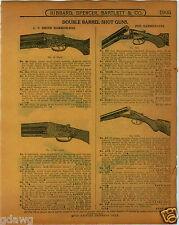 1915 PAPER AD LeFever Shotgun Shot Gun Parker Smith Fox Double Barrow Field