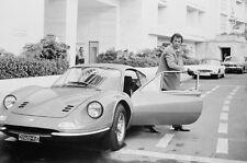 Tony Curtis The Persuaders 1969 Ferrari 246 Dino classic car 11x17 Mini Poster