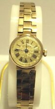 VINTAGE RARE*CHAIKA*RUSSIAN LADIES WATCH,GOLD PLATED,WITH ORIGINAL BAND # 328