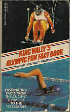 VINTAGE KING WALLYS OLYMPIC FUN FACT BOOK – 1988 - OLYMPIC GAMES – DELL BOOKS