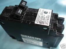 SIEMENS / MURRAY , ITE  Twin Q2020  , 120V , Circuit  Breaker  Type QT