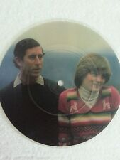 PRINCE CHARLES & PRINCESS DIANA.   PICTURE DISC
