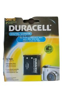 Duracell Rechargeable Battery For Kodak Cameras DR9712