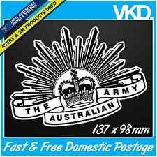 Australian Army Sticker/Decal - The Seventh Pattern Rising Sun Insignia Military