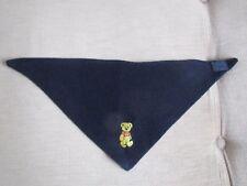 Tuch Halstuch Schal Dreieckstuch Baby in blau mit Teddy