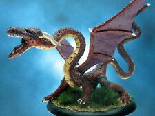 Painted Ironwind Metals Miniature Serpentine Dragon