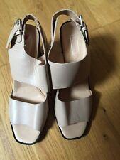 Nude Topshop Block Heels (Never Worn) Size 9 RRP £58