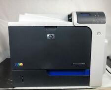 HP LaserJet CP4025DN Business Laser Color Printer With Printer Cable & Toner