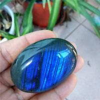 Large Tumbled Iridescence Labradorite Quartz Crystal Healing Mineral Paperweight