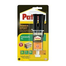 Pattex Power Epoxy Saldatutto Mix 5 minuti, forte colla epossidica bicomponente