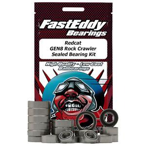 Redcat GEN8 Rock Crawler FastEddy Sealed Bearing Kit (32 pcs) (TFE5799)