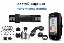 Garmin Edge 820 Performance Bundle GPS Computer Watch Cycling Bike HRM Cycle New
