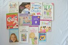 12 American Girl Books Guide Boys Friends Babysitter Quiz Doodle Relax Skin +