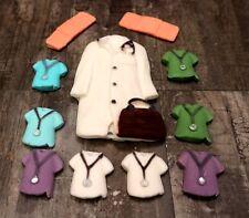 Medical Nurse Doctor GP Consultant Medicine NHS Sugar Edible Cake Cupcake Topper