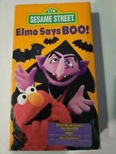 Sesame Street - Elmo Says Boo [VHS] - counting spooky vintage rare