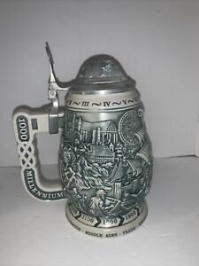 1999 Millennium 1000 Years Of History Collectors Stein Avon 54971