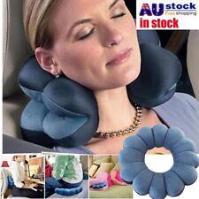 Plum Flower Shape Travel Pillow Neck Support Headrest Soft Car Flight Cushion