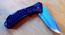 """Buck Shot Tactical"" folding lockback knife"