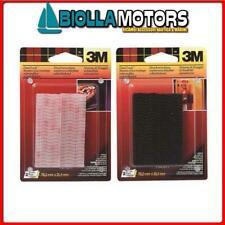 3215021 3M DUAL LOCK VELCRO BSTER 25X76MM NERO Striscie Richiudibili 3M Dual Loc