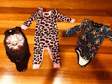 Girls Size 1-2 Rock Your Baby Bundle, 3 pcs