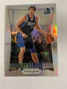 2012/13 Prizm Dirk Nowitzki Silver Prizm Card #63