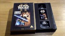 STAR WARS II ATTACK OF THE CLONES UK PAL VHS VIDEO 2002 Ewan McGregor