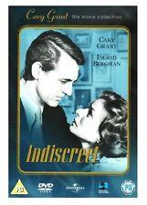 INDISCREET Cary Grant / Ingrid Bergman REGION 2 UK DVD * New & Sealed *
