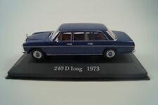 Voiture Miniature 1:43 De Agostini MERCEDES-BENZ 240 D Long Long 1973