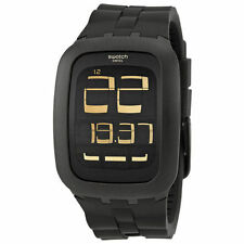 Swatch Adult Plastic Case Digital Wristwatches