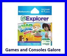 NEW! Leapschool Maths LeapPad, Leap Pad Ultimate Game, Leapster Explorer GS