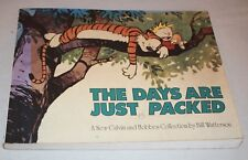 CALVIN & HOBBES Watterson DAYS JUST PACKED collection comic strip book colour