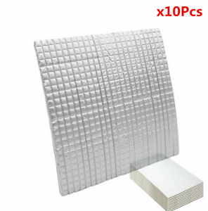 6MM 30*50 CM Car Auto Sound Deadener Insulation Noise Proofing X 10Pcs