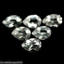 PRIX A SAISIR!  LOT DE 12 TOPAZES NATURELLES BLANCHES BRESIL 4,97 carats ref 637