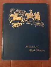 New listing 1896 The Chase By William Somervile Illustrated Hugh Thomson Vintage Rare