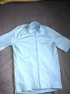 Rapha Core Short Sleeve Cycling Jersey - Mens XS Extra Small - Light Blue