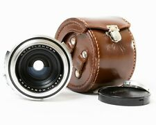 Vintage Voigtlander Skoparon 35mm f/3.5 Prime Lens 1:3.5/35 with Leather Case