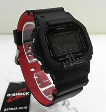 New Casio G-Shock Black/Red Layer Watch DW-5600HR-1