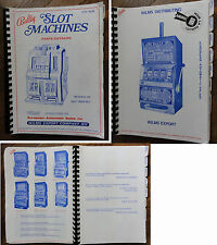 Bally  Slot Machines parts catalog