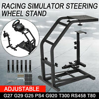 Racing Simulator Steering Wheel Stand For Logitech G25 G27 G29 G920 PS4 T80