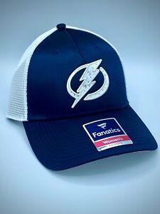 Women's Fanatics Brand Tampa Bay Lightning Snapback Mesh Hat with Bling